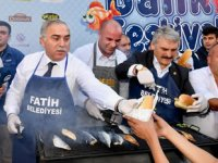 15. Fatih Belediyesi Balık Festivali başladı