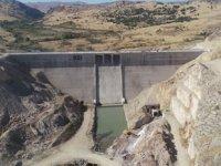 Ergani Barajı'nda su tutulmaya başlandı