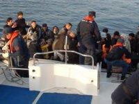 Çeşme'de 314 düzensiz göçmen yakalandı
