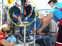 'Mare Nigrum' isimli gemiyle Karadeniz'deki kirlilik araştırıldı