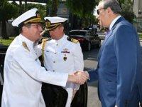 Deniz Kuvvetleri Komutanı Adnan Özbal, Mersin'i ziyaret etti