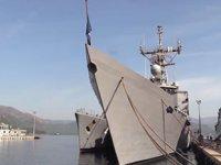 'PNS Alamgir' isimli Pakistan savaş gemisi, Aksaz Deniz Üssü'ne demirledi