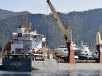 Lüks yatlar, 'Vectis Osprey Douglas' kargo gemisi ile sahiplerine gönderildi