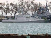 Rusya, Kerç Boğazı'nda el koyduğu gemileri Ukrayna'ya teslim ediyor