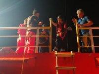 Sahil Güvenlik, gemide rahatsızlanan kişinin tıbbi tahliyesini gerçekleştirdi