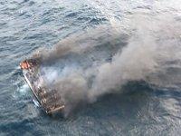 Güney Kore'de balıkçı teknesi yandı: 1 ölü, 11 kayıp