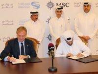 Katar, MSC Cruises ile yolcu gemisi kiralama anlaşması imzaladı