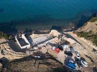 Karaburun'da sit alanındaki inşaatın yıkım çalışması tamamlandı