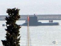 TCG Batıray Denizaltısı, Samsun Limanı'na demir attı