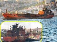 Kerç Boğazı'nda yanan 'Candy' ve 'Maestro' isimli gemiler haczedildi