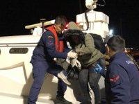 İzmir'de 43 düzensiz göçmen yakalandı