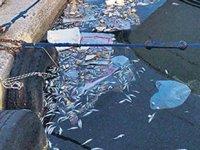 Balıkçı teknelerinin çöplerini kıyıya atması kirliliğe neden oldu