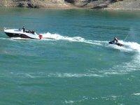 Uzunçayır Baraj Gölü su sporları merkezine dönüştü