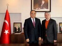 Ali Avcı, TTSO Yönetim Kurulu Başkanı Cengiz Günay'ı ziyaret etti