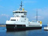 Ellen isimli elektrikli feribot, Danimarka'da sefere başladı