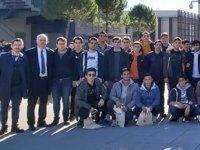 Geleceğin denizcileri, Piri Reis Üniversitesi'ni gezdi