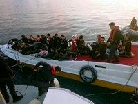 Türk karasularında bu yıl 57 bin 458 düzensiz göçmen yakalandı