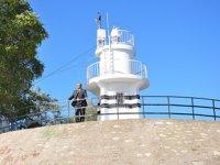 Türkiye'de inşa edilen ilk modern deniz feneri Sinop'ta bulunuyor