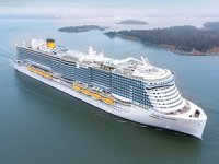 Costa Cruises, LNG yakıtlı 'Costa Smeralda'yı teslim aldı