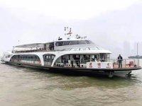 'Junlyu' isimli Çin'in ilk elektrikli yolcu gemisi sefere başladı