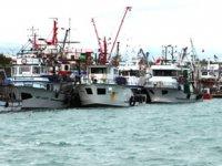 Erdemlili balıkçılar, kuvvetli rüzgar nedeniyle denize açılamadı