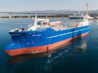 Sefine Tersanesi, 'Aqua Maløy' isimli canlı balık gemisini teslim etti