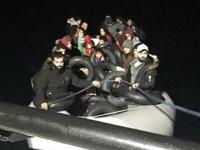 İzmir'de 48 düzensiz göçmen yakalandı