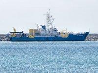 'Med Surveyor' gemisi, Lübnan açıklarında arama yaptı
