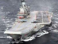 'Admiral Kuznetsov' isimli Rus uçak gemisinde yangın çıktı