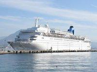 11 ayda 11 limana 328 kruvaziyer gemisi yanaştı