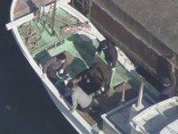 Oniki Limanı'nda 330 milyon dolarlık uyuşturucu ele geçirildi