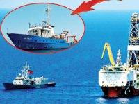 KKTC sularına giren 'Bat-Galim' isimli İsrail gemisi, bölgeden çıkarıldı
