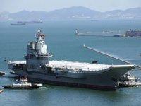 Çin'in ilk yerli uçak gemisi 'Şandong' hizmete girdi
