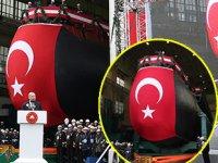 MİLDEN Projesi'nin ilk denizaltısı TCG Piri Reis'in denize indirilme töreni gerçekleşti