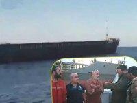 Halife Hafter güçlerinin el koyduğu 'Ballista' isimli gemi serbest bırakıldı