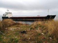 'Nevado 35' adlı kuru yük gemisi, Şarköy'de karaya oturdu
