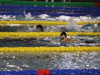 Sırbistan Yüzme Milli Takımı madalya için Erzurum'da kulaç atıyor