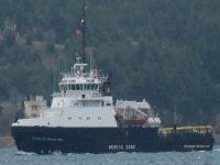 Rus askerî gemileri Çanakkale Boğazı'ndan geçti