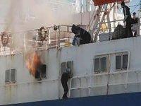 Ro-Ro gemilerindeki yangın emniyeti artırılacak