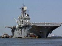 Amerkan Deniz Birlikleri savaş gemisi ile Basra Körfezi'ne girdi