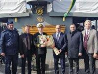 TCG Nusret Mayın Gemisi Karabiga'da ziyarete açıldı