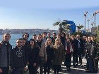 Denizci öğrenciler Galataport'a gezi düzenledi