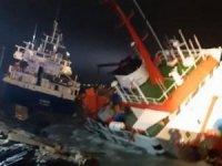 Tuzla açıklarında gemi kazası yaşandı