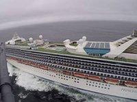 ABD'de yolcu gemisinde korona alarmı