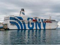 MSC Grup şirketlerinden Grandi Navi Veloci'nin  gemisi Splendid yüzen hastaneye dönüştürüldü