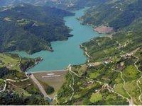 Kocaeli Yuvacık Barajı'nda doluluk oranı yüzde 97'ye yükseldi,kapaklar açıldı
