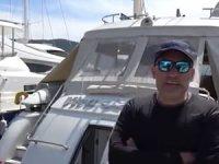 Marmaris'te deniz tutkunları yatlarında izole yaşam sürüyor