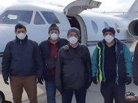 SANMAR, mürettabı mahsur kalınca özel uçak kiraladı
