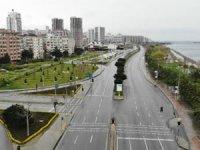 Anadolu Yakası sahil şeridi boş kaldı