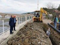 Osmancık'ta sahil düzenlemesi Gemici'de devam ediyor